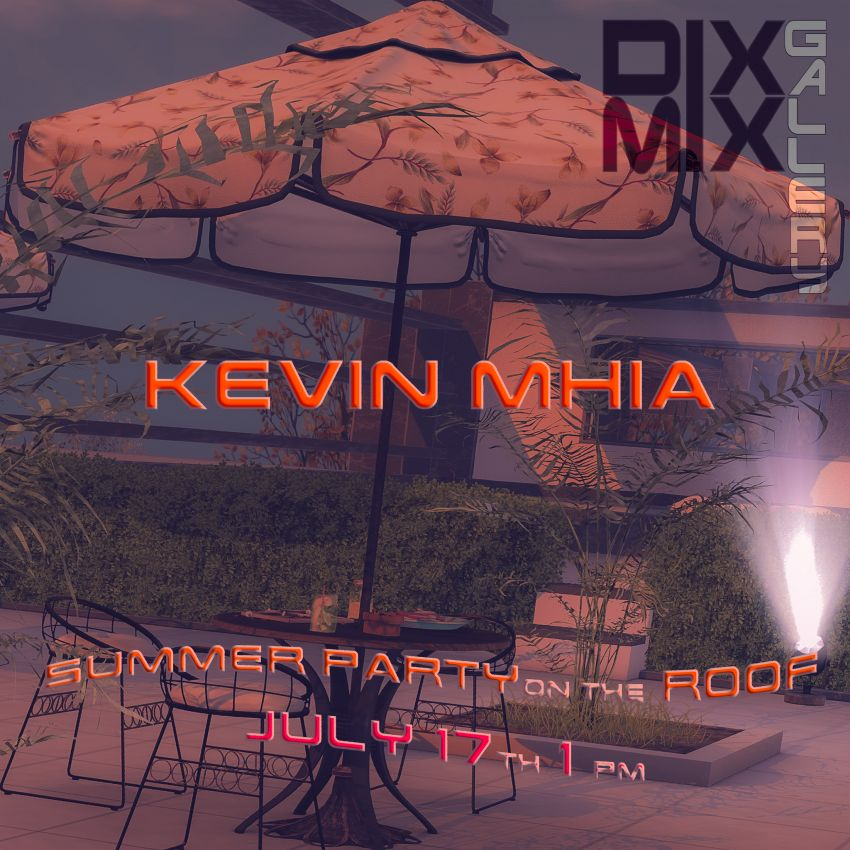 <span>Summer Party with Kevin Mhia @Dixmix Gallery</span>