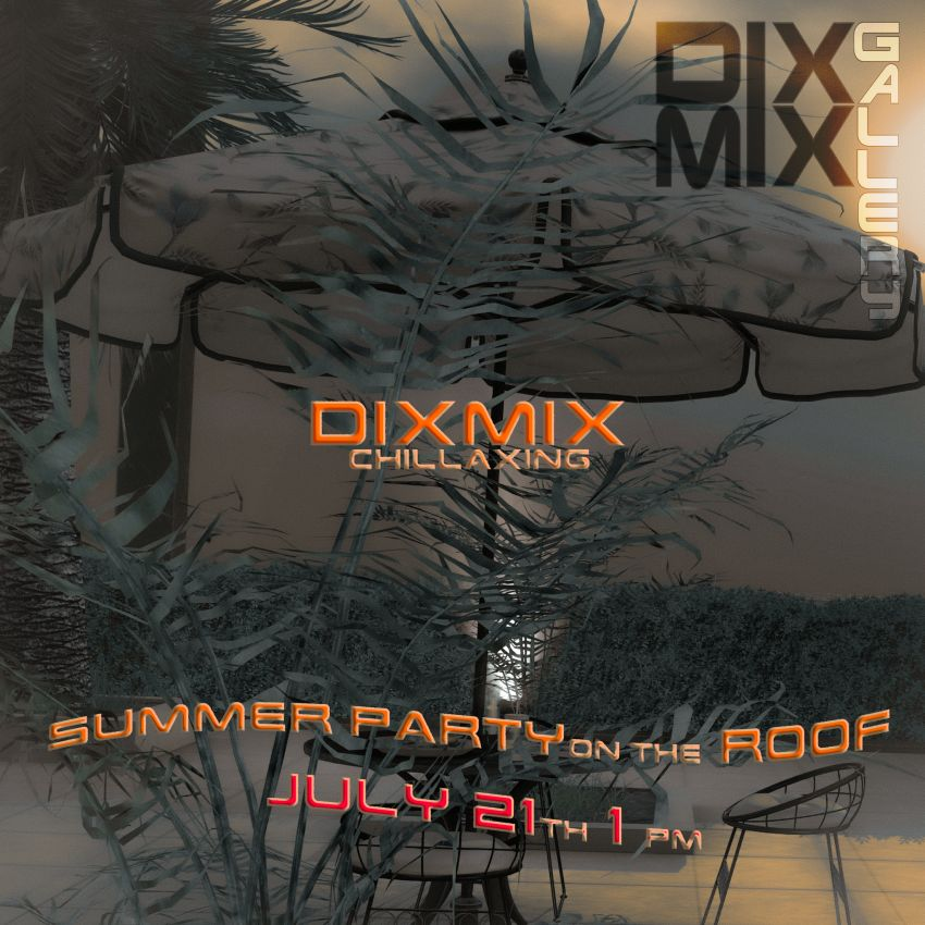 <span>Chillaxing with Dixmix on the roof!</span>