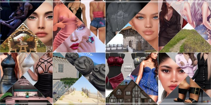 JUST FEW DAYS LEFT FROM CURRENT COSMOPOLITAN ROUND! Make sure to come by before new round replace it all 19th September! Gallery @ https://bit.ly/3BKPoeJ LM @ http://maps.secondlife.com/secondlife/No%20Comment/131/61/22  Enjoy!
