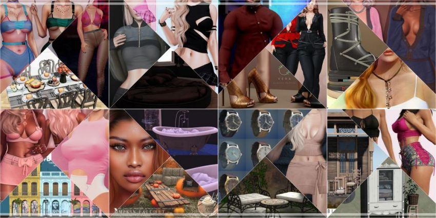 JUST WEEK LEFT FROM CURRENT COSMOPOLITAN ROUND! Gallery @ https://bit.ly/2YfMfWk LM @ http://maps.secondlife.com/secondlife/No%20Comment/131/61/22  Enjoy!